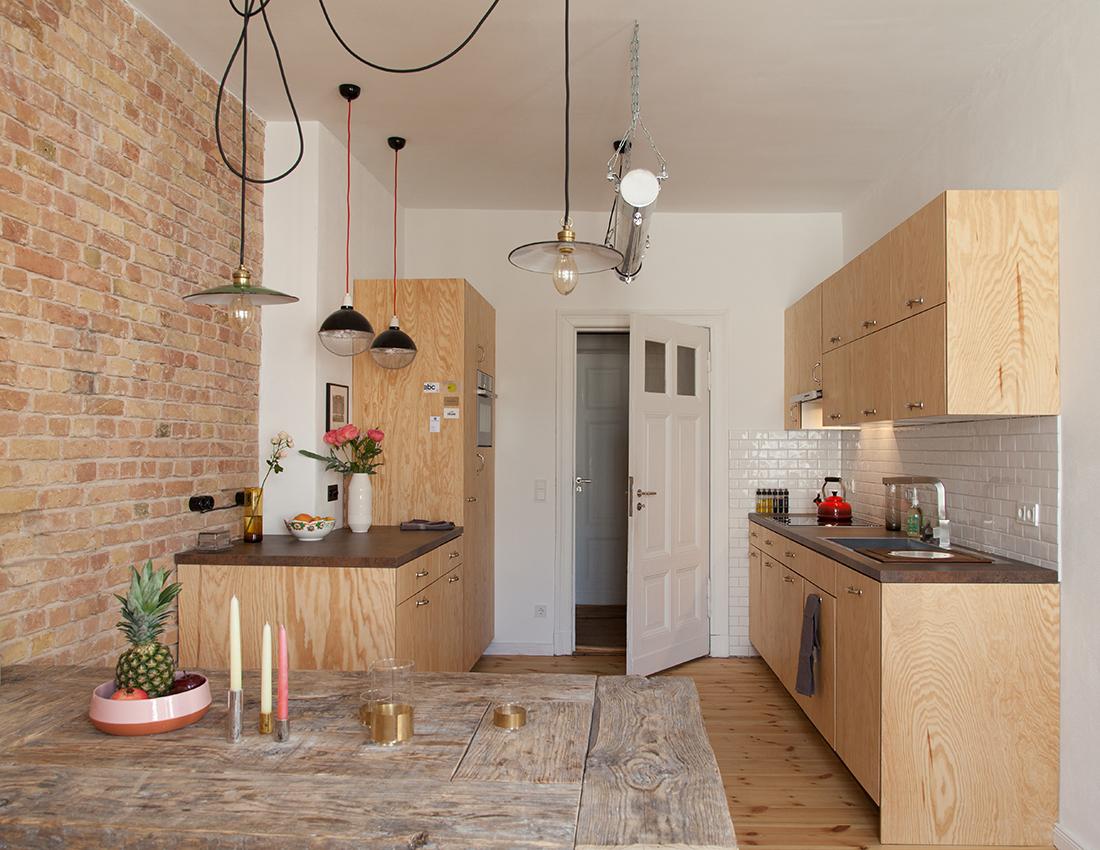 Küche im Industrial Style in Kreuzberg - janakubischik.de